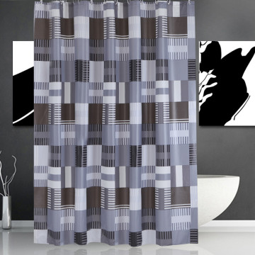 20 Years manufacturer for Shower Curtain Liner Shower Curtain PEVA Black Square supply to Heard and Mc Donald Islands Importers