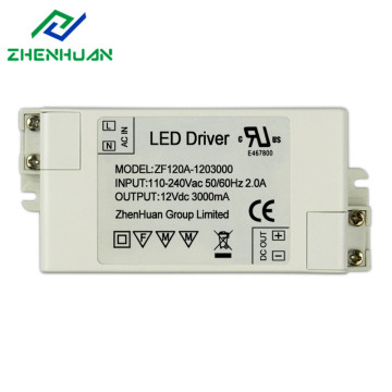 12V 36W DC Output Led Lighting Driver