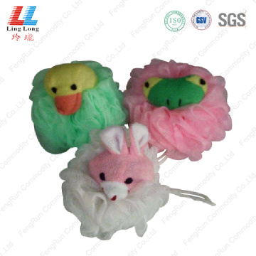 Animal squishy mesh sponge ball