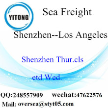 Shenzhen Port LCL Consolidation To  Los Angeles