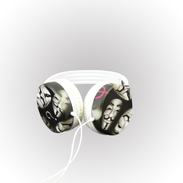 Accept OEM Wired Headset Earphone Over-ear Headphones