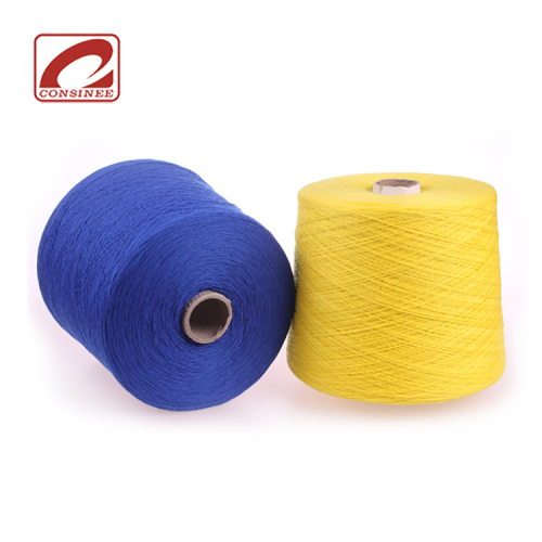 Consinee colored oeko cashmere yarn on cone