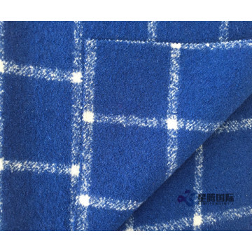 Warm Touch Wool Nylon Blend Plaid Fabric