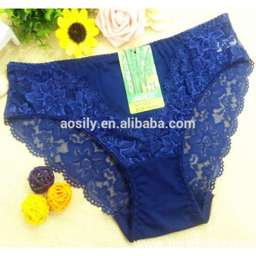 AS-402B Qmilch fabric and lace panty for female thermal underwear