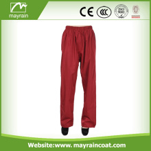 high visibility breathable light weight PU rain trouser