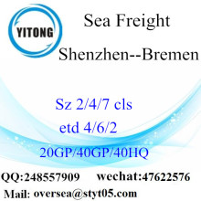 Shenzhen Port Sea Freight Shipping To Bremen