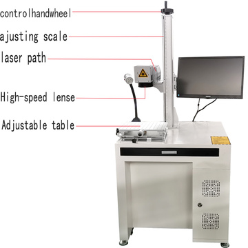 50w Jewelry/Silver/Gold/Brass Fiber Laser Marking Machine
