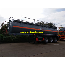 19cbm 20MT Dilute Sulphuric Acid Trailer Tanks