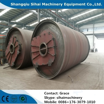 Waste Tire Converting to Furnace Oil Machine
