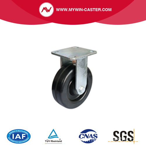 5 Inch High Temperature Resistance Braked Caster