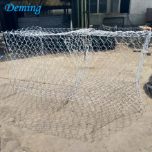 Hot dip galvanized woven gabion wire mesh/gabion cages