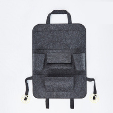 Special for Seat Back Organizers Felt Car Backseat Organizer for Baby Travel Accessories export to Anguilla Wholesale