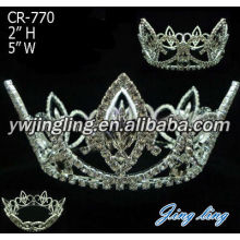 Beauty Queen Pageant Crown Adult Full Round Crown