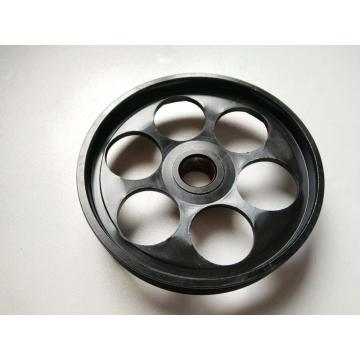 Engine power steering pump pulley