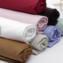 OEM/ODM for Organic Cotton Percale Fabric 250TC Organic Cotton Percale Dyed Fabric supply to Netherlands Manufacturer