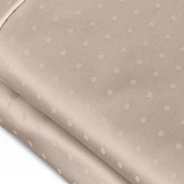 Hot sale for Bleached Sateen Sheets Organic Cotton 700TC Swiss Dot Jacquard Sheet export to Japan Manufacturer
