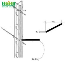 1.25bls per foot 6ft Steel T post