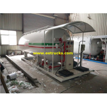 20m3 8MT Skid Mounted Propane Filling Plants