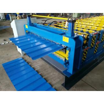 Dx Double plate colored steel roll equipment