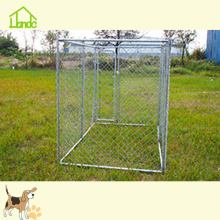 Galvanized Large Chain Link Dog Fence