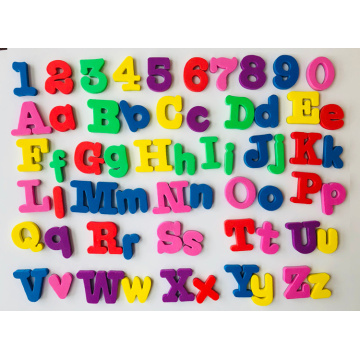 alphabet eva foam letter sticker for promotion