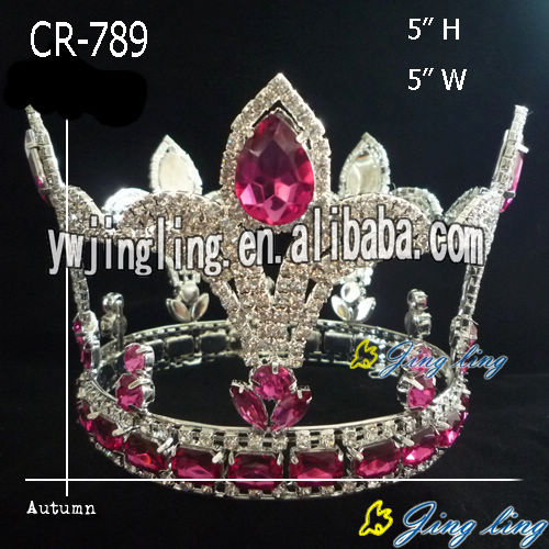 Full Round Pageant Crowns CR-789-F