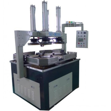 Metal part valve body single surface lapping machine