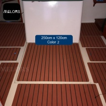 EVA Composite Faux Teak Sheet For Yacht Flooring