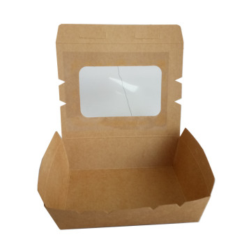 Brown Kraft Lunch Box