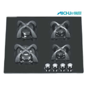 4 Burners 8mm Tempered Glass Hob