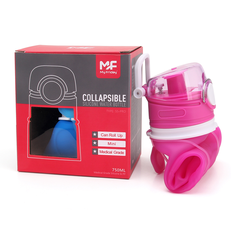 BPA free collapsible water bottles