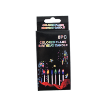 Best quality and factory for Firework Color Flame Candle christmas party spiral colorful candles export to Oman Suppliers