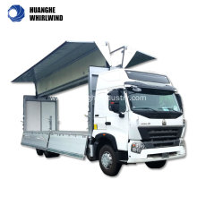 high quality wing van trailer
