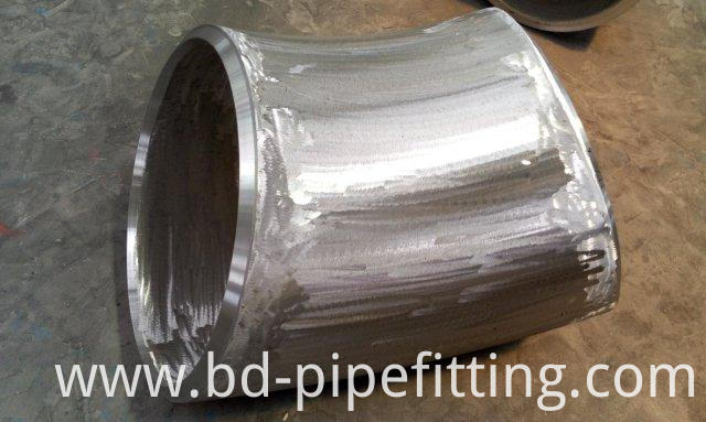 ANSI B16.9 ASTM A234 WPB CS BW Pipe Fitting