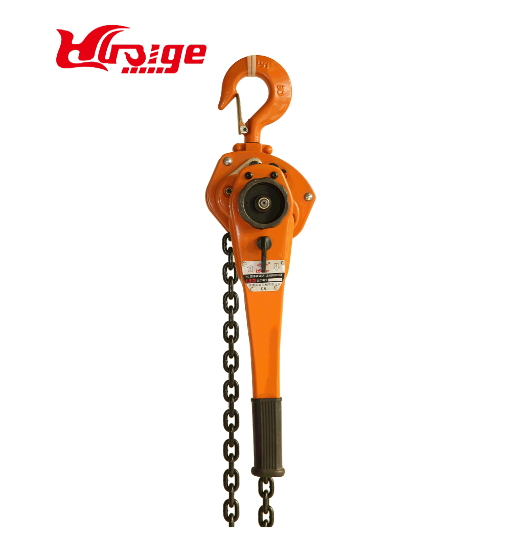 Construction lever block hoist with  9 ton