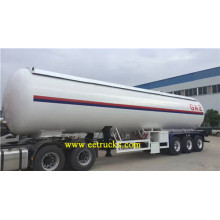 factory low price Used for 3 Axles LPG Tank Trailers 60000 Litres 30 Ton Propane Tanker Trailers supply to Sri Lanka Suppliers