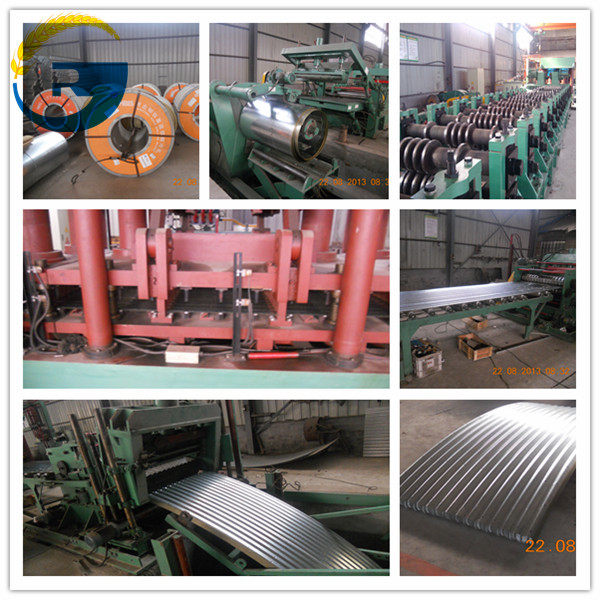 Silo Steel Sheets Produce