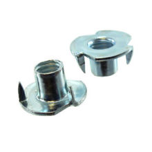 Three jaw lock tee nut