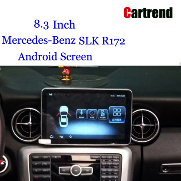 Mercedes SLK Android Navi Screen Upgrade 8.4 Inch