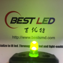 5mm 570nm LED Yellow-green Diffused LED