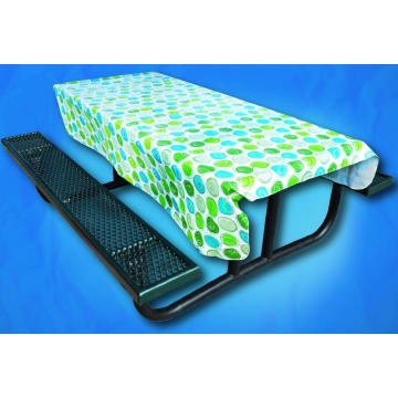 Pvc Printed fitted table covers Runner