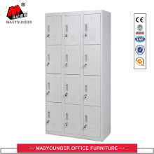 Manufacturer of for School Lockers 3 Line 12 Door Metal Locker supply to Cambodia Wholesale