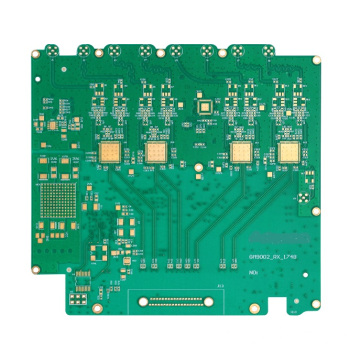 Mixed material high-frequency communication circuit board