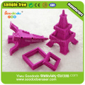 Eiffel Tower Shaped Eraser,eraser school&office use