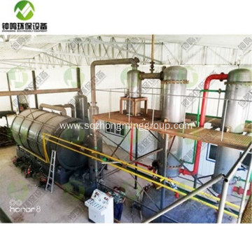 Mobile Pyrolysis of Tires Oven Unit