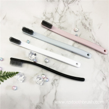 plain color  straight shank toothbrush