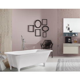 Pure acrylic freestanding bathtub for bathroom