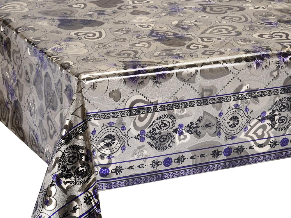 Silver Gold Coating Tablecloth