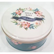 OEM manufacturer custom for Wedding Chocolate Tin Box Sweet Love Chocolate Tin Can supply to Poland Factories