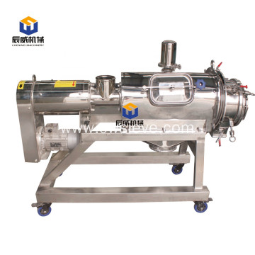 Stainless steel high productivity centrifugal sifter